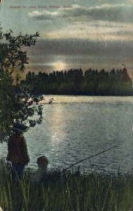 Sunset on Lake Ethel - Nampa, Idaho ID