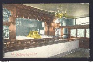Buffet Hotel Rickman, Kalamazoo, Mich. ~ Absolutely Fire Proof - postcard