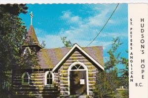 Canada Hudson Hope Saint Peters Anglican Church Williams Lake British Columbia