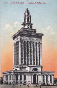 OAKLAND, California, 1900-1910's; New City Hall