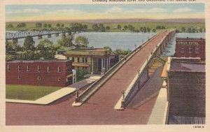 FORT SMITH, Arkansas, PU-1961; Crossing Arkansas River into Oklahoma
