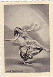 GARBATI CIGARETTE CARD FAMOUS DANCERS NO 154 LOTTE WERNICKE