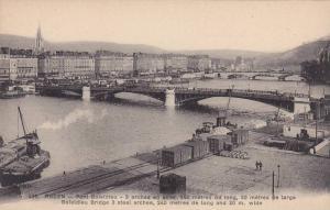 Panorama, Bridges, Pont Boielsdieu, Rouen (Seine Maritime), France, 1900-1910s