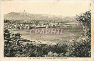 Old Postcard ANTIBES General -vue taken Garoupe