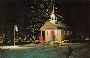 SIMCOE , Ontario , Canada , 50-60s ; Chapel in the Park at Night, Clifton Park