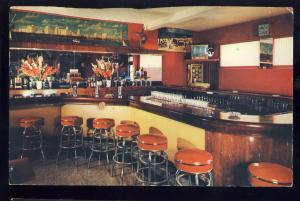 Miami, Florida/FL Postcard, George Nielsen's Avenue Bar, Lounge, 1961!