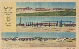 NAMPA , Idaho , 1930-40s ; Pacific Fruit Express Co. Rail Car Repair Shops