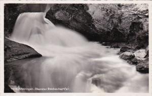 Switzerland Meiringen Oberster Reichenbachfall 1953 Photo