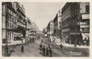 RP: MARSEILLE , France , 1947 ; La Canebiere