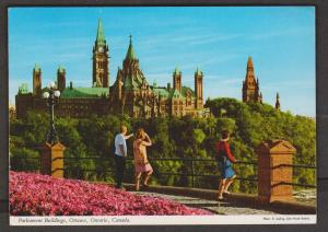 Ottawa - View Of Canadian Parliament Buildings 1976