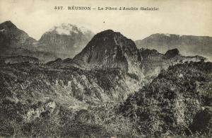 reunion, Le Piton d'Anchir (1899) Messageries Maritimes
