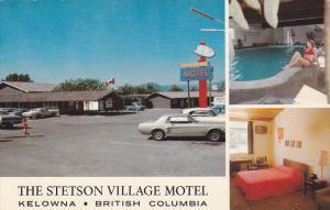 The Stetson Village Motel , KELOWNA , B.C. , Canada , 1950-60s