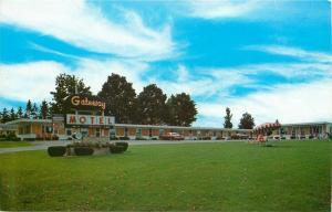 Newberry Michigan~Gateway Motel~Near Tahquamenon Falls~1960s Postcard