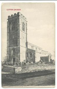 Northamptonshire; Lutton Church PPC, Unposted, By HH Markham, St Peter's
