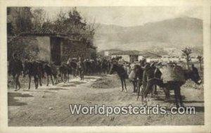 Traftierkolonne im Alten Turkenviertel Skutari Austria Unused