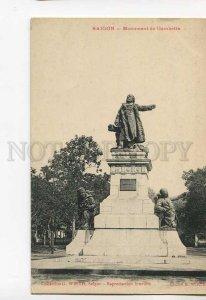3046313 VIETNAM SAIGON Monument Gambetta Vintage PC