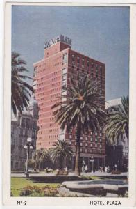 Hotel Plaza, Victoria Plaza, Montevideo, Uruguay, PU-1960