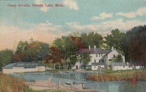 HAMLIN LAKE , Michigan, 1914 ; Camp Arcadia