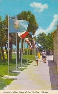 Corridor Of Flags At Fort DeSoto Florida