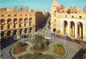 Libya Postcard Tripoli Algeria square