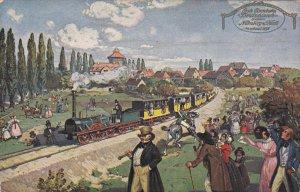 Deutschland's erste Eisenbahn (Ludwigsbahn) , 00-10s
