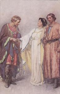 Shakespeare Illustration The Winter's Tale , 00-10sHow say you? , My priso...