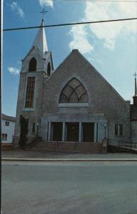 Eglise Saint-Jean, Coaticook, Quebec, Canada, 40-60s