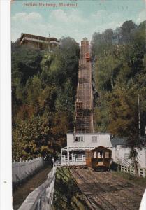 Incline Railway, Montreal, Quebec, Canada, PU-1912