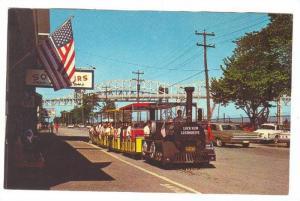 Miniature Train car, Saulte Ste. Marie, Michigan, 40-60s