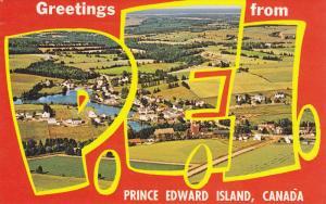 PRINCE EDWARD ISLAND, Canada, PU-1970; Aerial View