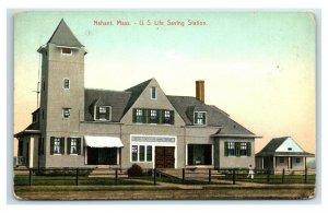Postcard Nahant, Mass - US Life Saving Station Y65