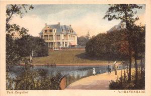 442 Netherlands Gravenhage Park Zorgvliet 1910