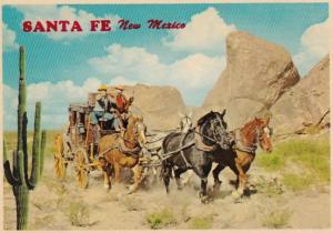 New Mexico Santa Fe Stagecoach Cowboy Cadillac