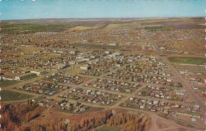 Air view,  Dawson Creek,  B.C., Canada,  40-60s
