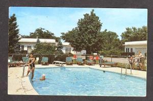 MD West End Gardens Cabins ELKTON MARYLAND Postcard