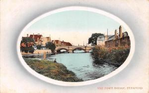 Stamford The Town Bridge River Pont Valentine's Series