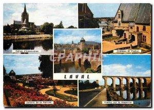 Postcard Modern Laval Mayenne