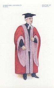 Cambridge, England, 1910s : University Robes, Doctor of Divinity