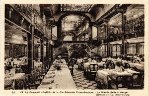 CPA Paquebot PARIS La Grande Salle a manger SHIPS (704047)