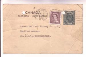 Canada Stationary Announcing Boiler Inspection by Insurance Co at United Nail...