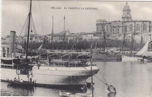 MALAGA , Spain , 00-10s ; ElPuerto y la Catedral