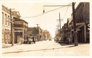 Virginia City NV Sierra Beer Sign Truck Storefronts C Street Photo Postcard
