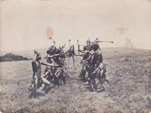 RP, Zulu Life, A Stick Fight, South Africa, 1920-1940s