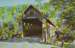Vermont Lemington Covered Bridge To Columbia New Hampshire