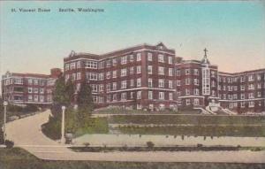 Washington Seattle Saint Vincent Home Albertype