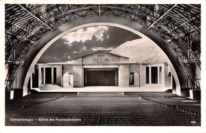 Buhne des PassionsTheater Obermmergau Germany Unused