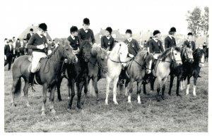 Hippique Sports Horses Real Photo Published Magazine Group 03.96