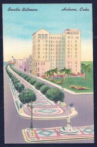 Sevilla-Biltmore Hotel Havana Cuba unused c1940's