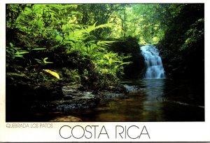 Costa Rica Corcovado National Park Los Patos Stream 1991