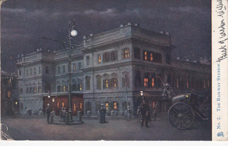 The Railroad Station , Capetown , South Africa , PU-1906 : TUCK #2